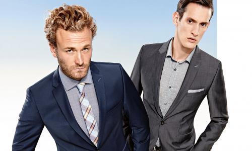 Trendy en vernieuwend CG, een perfect kostuum of colbert voor de wat jongere man die van stijl en fashion houdt